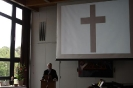 Erster Gottesdienst im Sennestadthaus